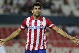 Atlético de Madrid: Diego Costa sufrió duro golpe que asustó a toda España - VIDEO