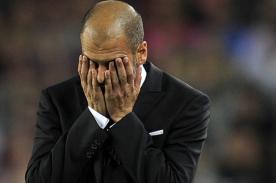 Champions League: Pep Guardiola se cansó de hacer gestos - VIDEO