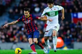 Liga BBVA: Barcelona vs. Elche, transmisión en vivo por ESPN+