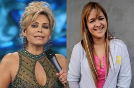 Gisela Valcárcel: muestra su apoyo a la esposa del 'Puma' Carranza