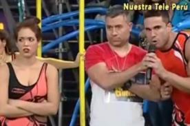 Esto Es Guerra: Jazmín Pinedo y Gino Assereto armaron tremenda bronca [Video]