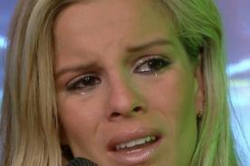 Combate: Alejandra Baigorria sufre terrible caída en vivo [VIDEO]