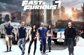 Rápidos y furiosos 7: Actriz peruana en famosa película
