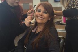 Magaly Medina desbarata rumores de renuncia con esta foto en Twitter