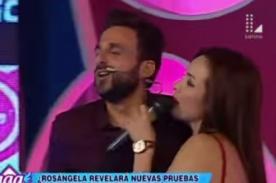¿Peluchín descubre el lado 'OSCURO' de Rosángela Espinoza? - VIDEO