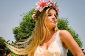 Alejandra Baigorria adelanta sexy foto en topless de su calendario - FOTO