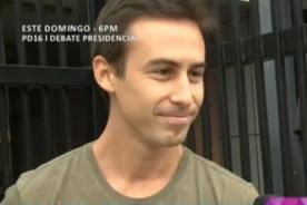 Bruno Ascenzo se pronuncia tras 'salir del clóset' - VIDEO