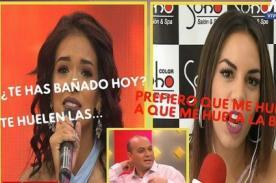 Shirley Arica y Aída Martínez se insultan sin tregua en vivo en Cuéntamelo Todo