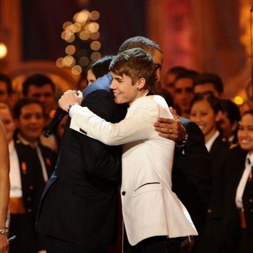 Justin Bieber: El presidente Obama es un presidente cool