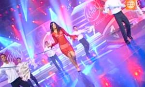 Silvia Cornejo se convierte en Paulina Rubio bailando Casanova