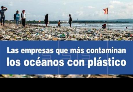 Estas son las marcas que más contaminan los mares
