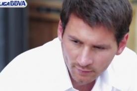 Lionel Messi demostró que también la conoce como modelo (Video)