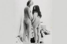 Desnudos de John Lennon y su esposa Ono se vendieron en 1.370 dólares