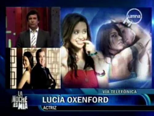 Lucía Oxenford: Todo este circo se va a solucionar - Video
