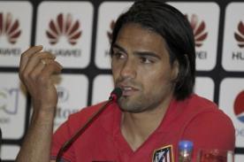Video: Radamel Falcao responde a Juan Vargas con burla