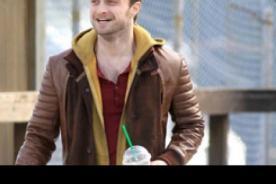 Fotos: Daniel Radcliffe lució 'cuernos' grabando nuevo filme