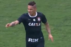 Video: Golazo de Paolo Guerrero en la derrota del Corinthians - Brasileirao
