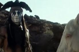 Johnny Depp en el nuevo trailer de 'El llanero solitario' (Video)