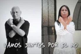 Revocatoria Villarán: Gustavo Bueno y madre de Ivo Dutra dicen 'NO' (Video)