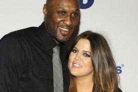 ¿Lamar Odom, esposo de Khloe Kardashian, recibió un disparo?