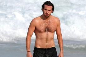 Bradley Cooper es captado disfrutando de playa de Rio de Janeiro