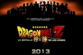 Dragon Ball Z: La Batalla de los Dioses -  Así sería la lista del doblaje