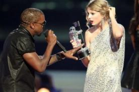 Taylor Swift bromea con incidente pasado con Kanye West en los MTV VMA