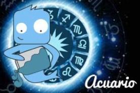 Horóscopo de hoy: ACUARIO (27 de Agosto del 2013)