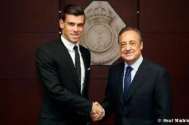 Florentino Pérez: Gareth Bale, bienvenido a tu casa, bienvenido al Madrid