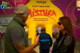 Esto es Guerra: Jazmín Pinedo y Gino Assereto juntos en Mistura - Video