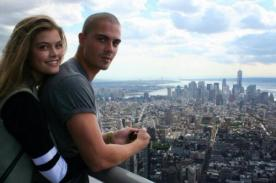 Max George de The Wanted se luce con su nueva novia Nina Agdal