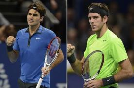 Roger Federer enfrentará a Juan Martín del Potro en la final de Basilea