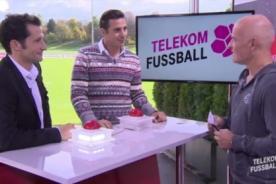 Video: Claudio Pizarro participó en programa concurso de Alemania