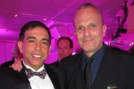 Ernesto Pimentel fue premiado en Nueva York por su ardua lucha contra el SIDA
