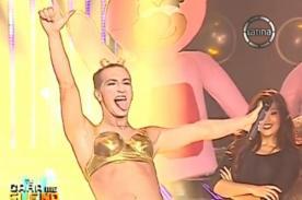 Video: Antonio Pavón se convirtió en Miley Cyrus para Tu Cara Me Suena