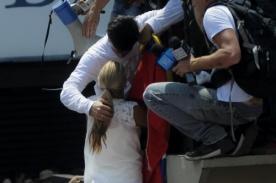 Venezuela: Captan en video la despedida de Leopoldo López a su esposa