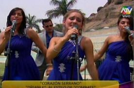 Combate: Integrantes se 'convierten' en Corazón Serrano para videoclip