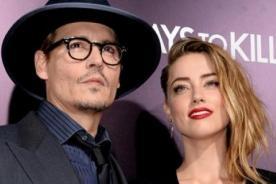 Johnny Depp y Amber Heard organizan fiesta para celebrar su compromiso