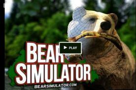 [Video] Bear simulator: El videojuego más 'salvaje' que te pone en la piel de un oso