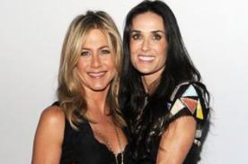 Jennifer Aniston quiere ser budista, tras consejo de Demi Moore