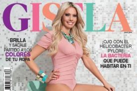 Laura Huarcayo sexy a sus 40 años en portada de revista Gisela [Foto]