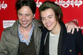 One Direction 2014: Zach Braff bromea sobre 'romance' con Harry Styles
