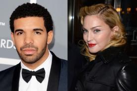 ¡Madonna da beso a rapero Drake, pero a este no le agrado! [Video]