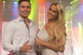 Macarena Gastaldo apareció con vestido transparente en Combate - FOTOS