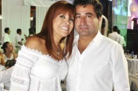 Magaly Medina y Alfredo Zambrano rompen el 'chanchito' para contratar a tremenda orquesta en su matri