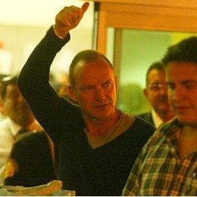 Sting en Lima: Cantante ya se encuentra en la capital