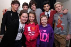 One Direction cumplió sueño de pequeña fan con leucemia
