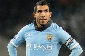 Carlos Tévez se quedará en el Manchester City, pero no jugará
