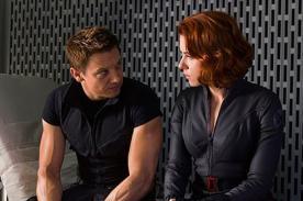 The Avengers: Nuevas escenas con Scarlett Johansson y Robert Downey Jr