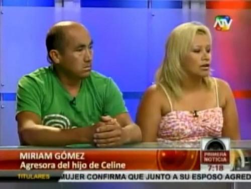 Hijo de Celine Aguirre debería pedir disculpas primero según pareja